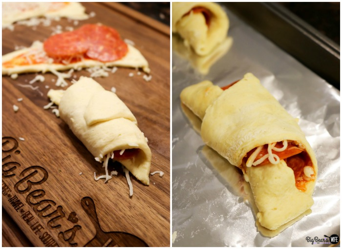 How to make Pizza Crescent Roll Dippers