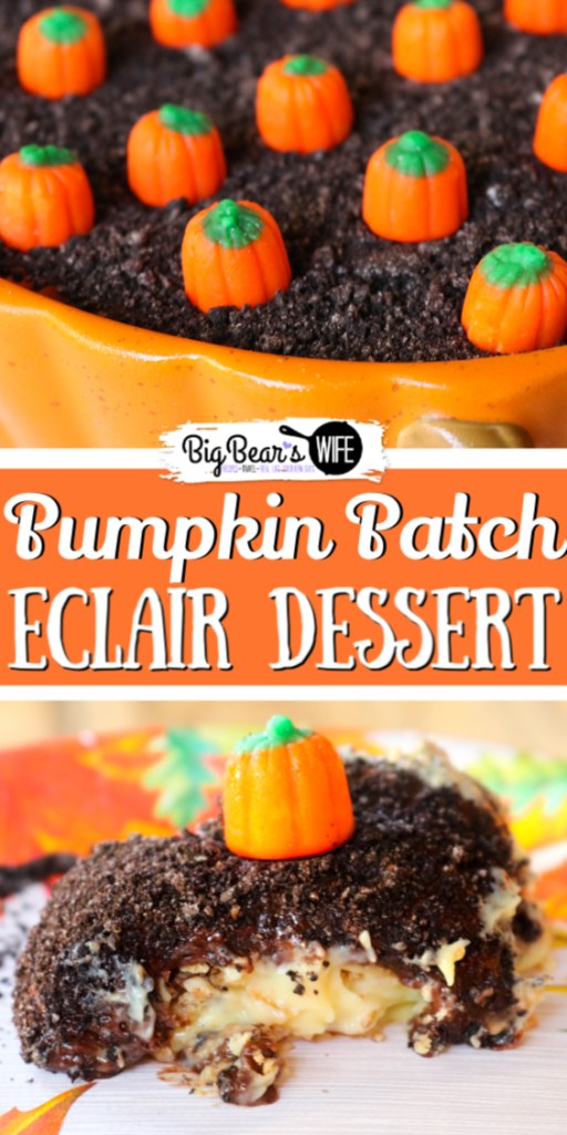 Pumpkin Patch Eclair