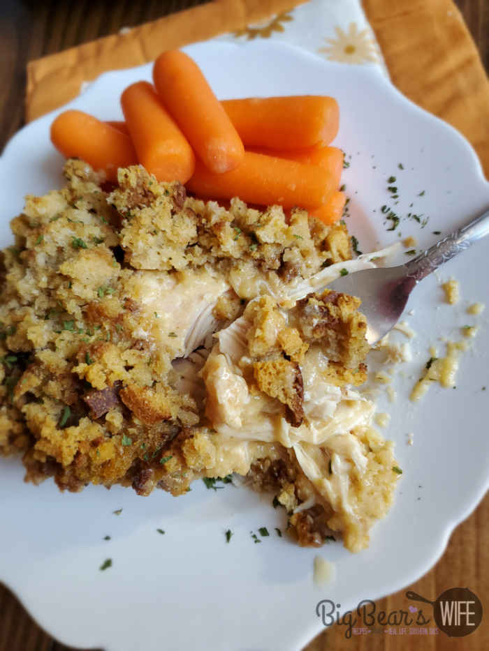 1980s Slow Cooker Chicken and Stuffing