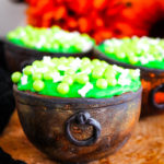 Chocolate Candy Witch Cauldrons #HalloweenTreatsWeek