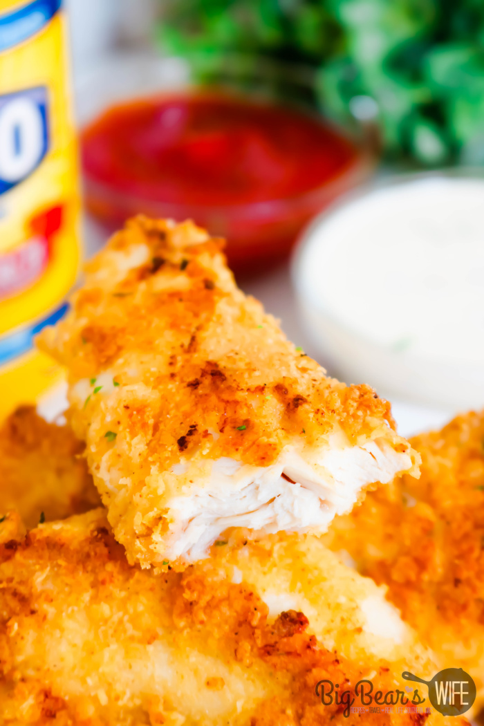 Crispy Baked Ranch Chicken Tenders