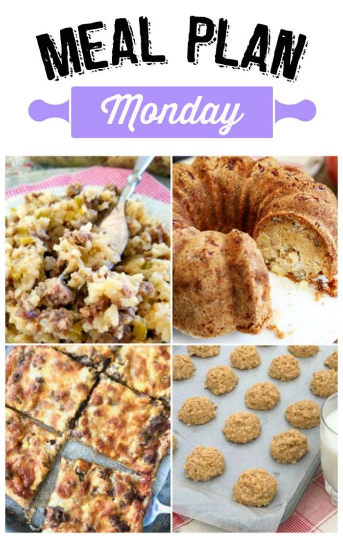 Hey y'all!!  Welcome to another delicious edition of Meal Plan Monday!