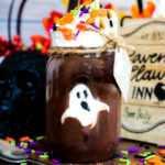 Pet Ghost in a Jar Pudding Cups #HalloweenTreatsWeek
