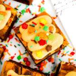 Pumpkin Pie Cheesecake Brownies #PumpkinWeek