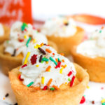 Pumpkin Pie Cheesecake Cookie Cups