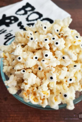Ghost Popcorn - White Chocolate Popcorn