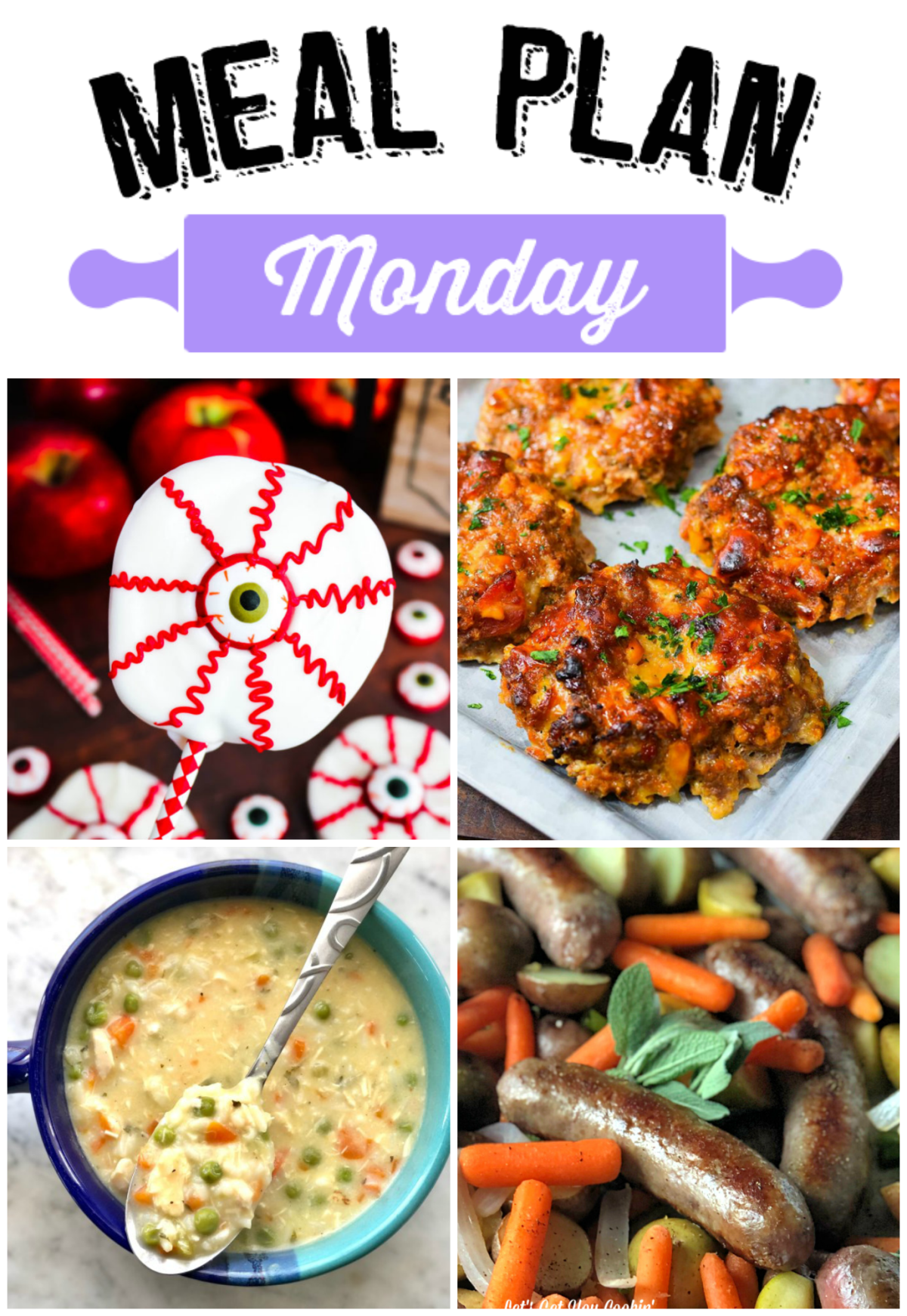 Cool crisp temperatures are starting to make there way down to us and we're ready with some delicious and warm recipes with Meal Plan Monday 185!