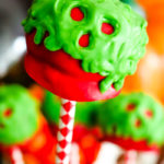 Poison Apple Cake Pops