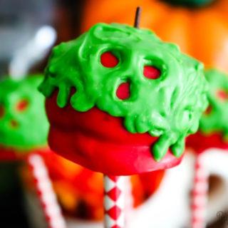 Poison Apple Cake Pops