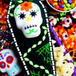 Spooky Halloween Snack Board #HalloweenTreatsWeek