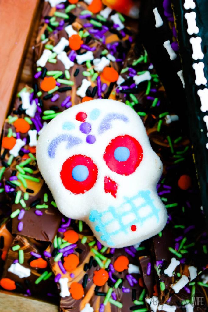 Spooky Halloween Snack Board