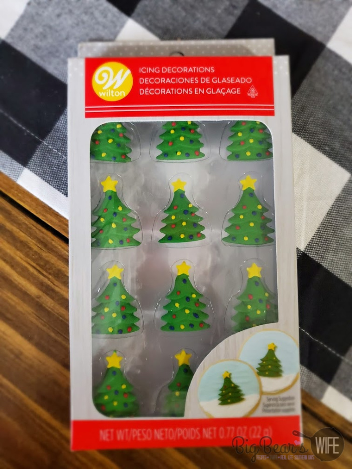 Christmas Tree Royal Icing Decorations