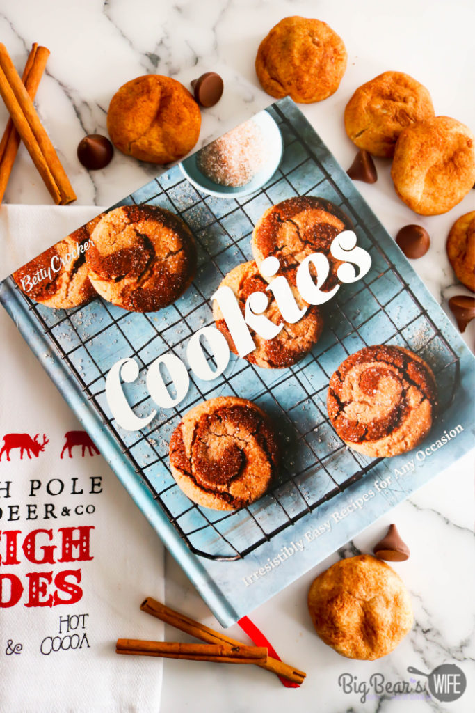 Chocolate-Stuffed Snickerdoodles
