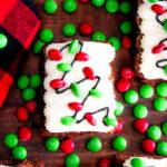 Christmas Light Brownies