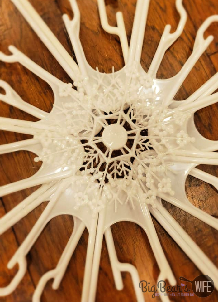 big snowflake ornament