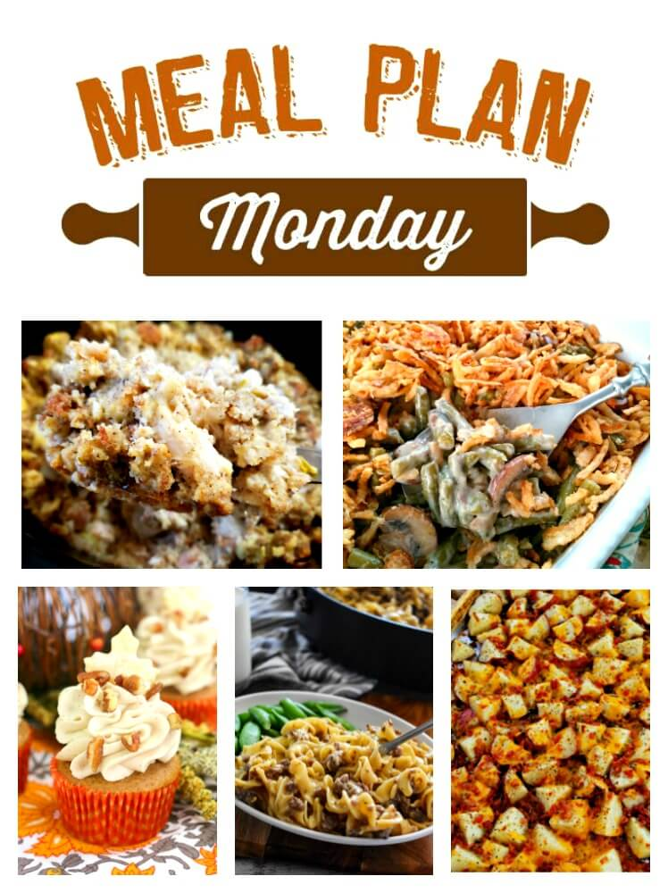 We've just rolled into November and on our way to the holidays! Each week at Meal Plan Monday, you'll find tasty recipes to inspire your week, as well as some great holiday recipes. via @bigbearswife