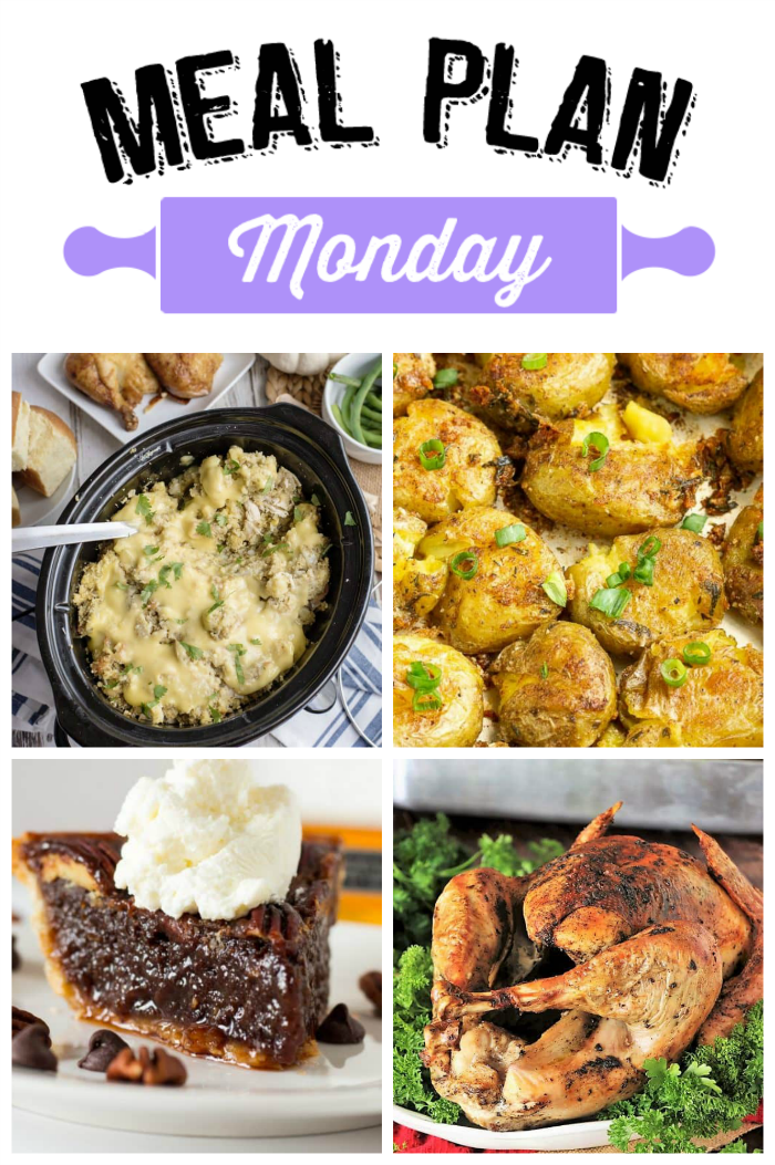 WELCOME TO THE THANKSGIVING EDITION OF MEAL PLAN MONDAY! We've got all kinds of recipes this week to help with your Thanksgiving Meal Prep!