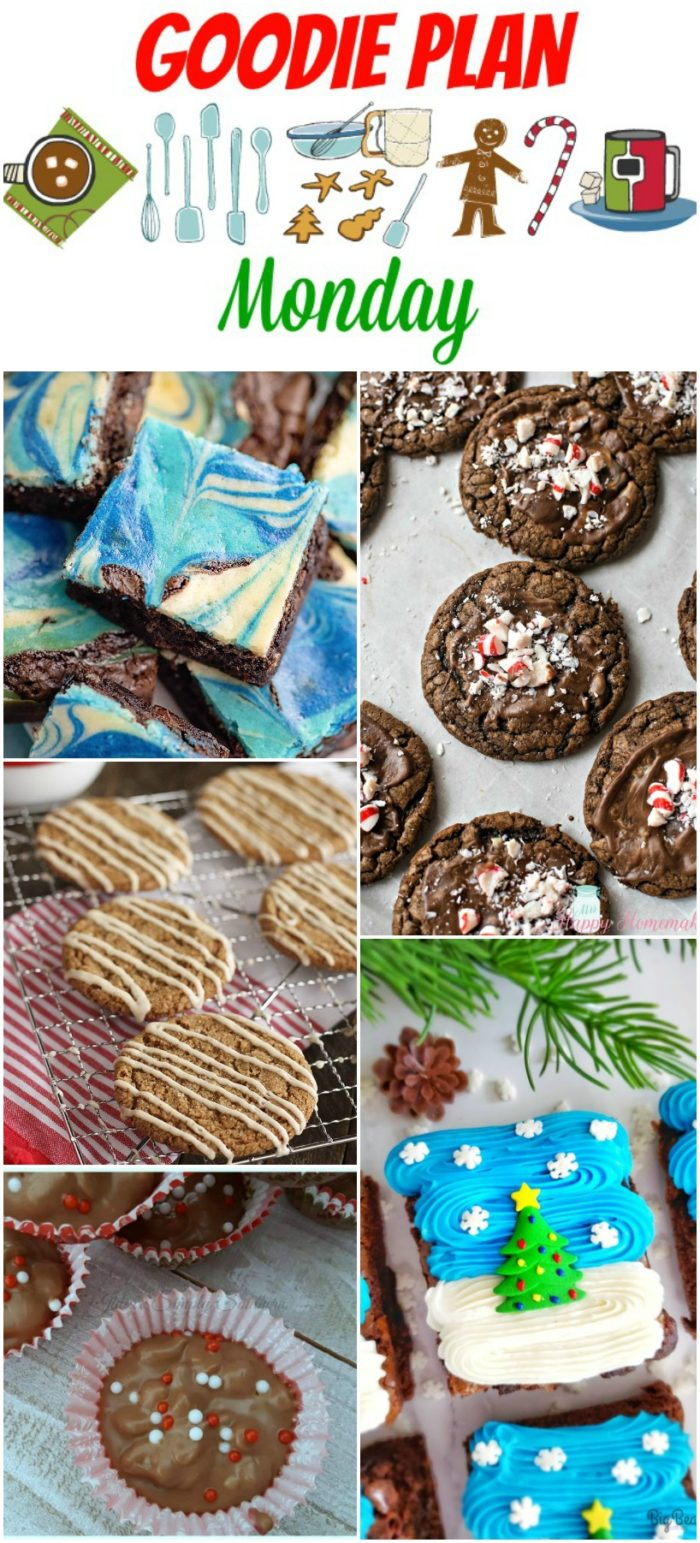 Hey y'all - welcome to a special holiday edition of Meal Plan Monday. We're calling it - Goodie Plan Monday!Tons of Christmas treat recipes!