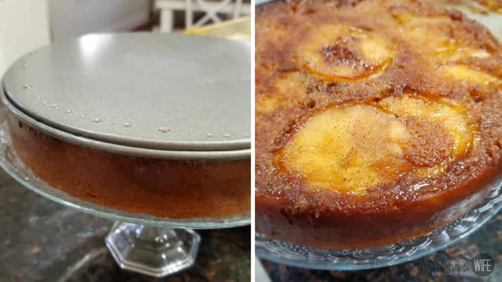 Brown Sugar Upside Down Apple Cake