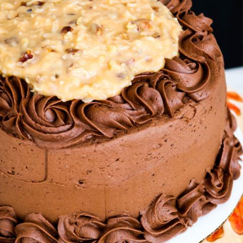 German Chocolate Cake (2)