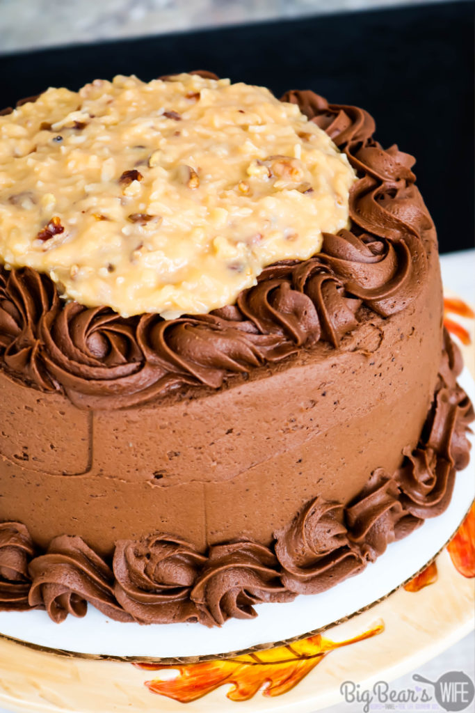 German Chocolate Cake (2)