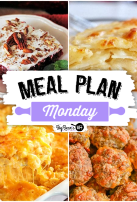 Meal Plan Monday 193