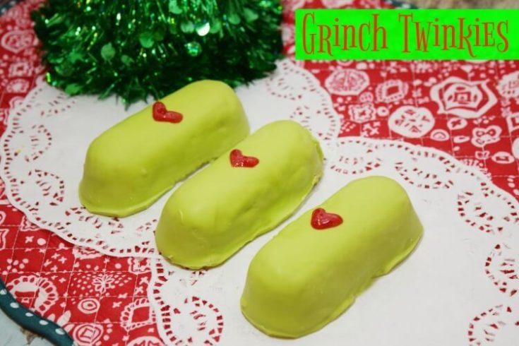 It's the Grinch Twinkies!