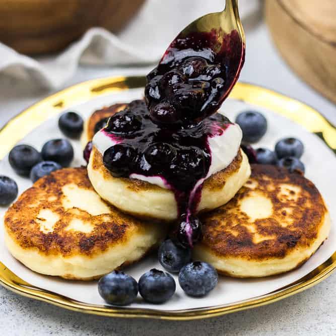 Syrniki Recipe - Russian Cheese Pancakes