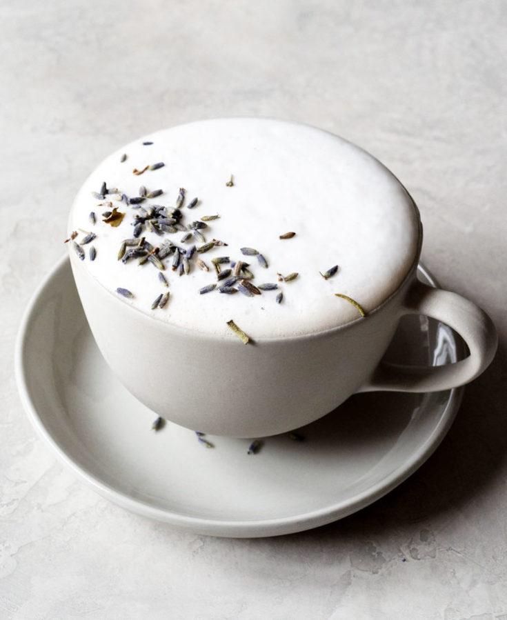 Easy London Fog Tea Latte (Earl Grey Latte)