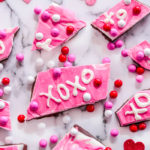 3 Layered XOXO Valentines Bark