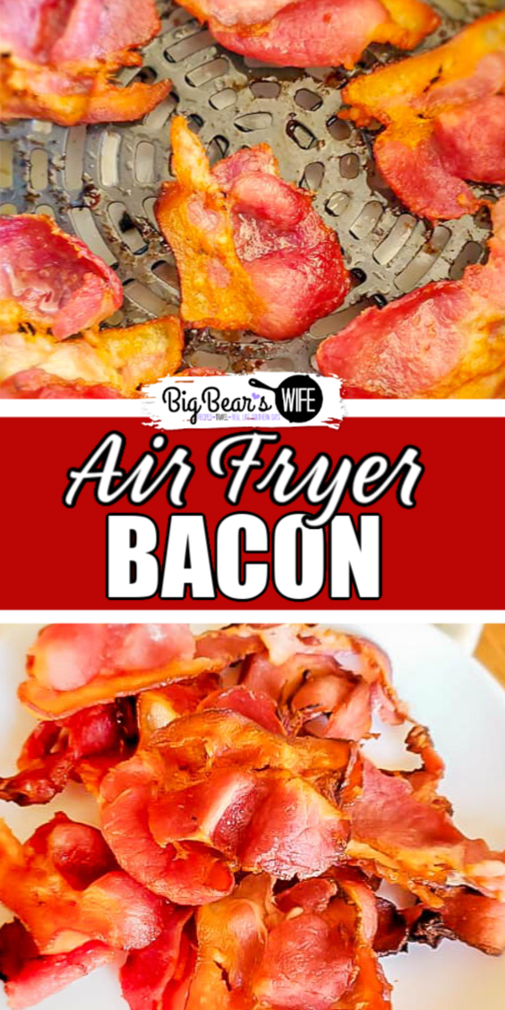 Crisp up delicious bacon without turning the oven on! Use an air fryer to cook perfect crispy Air Fryer Bacon with no skillet babysitting!