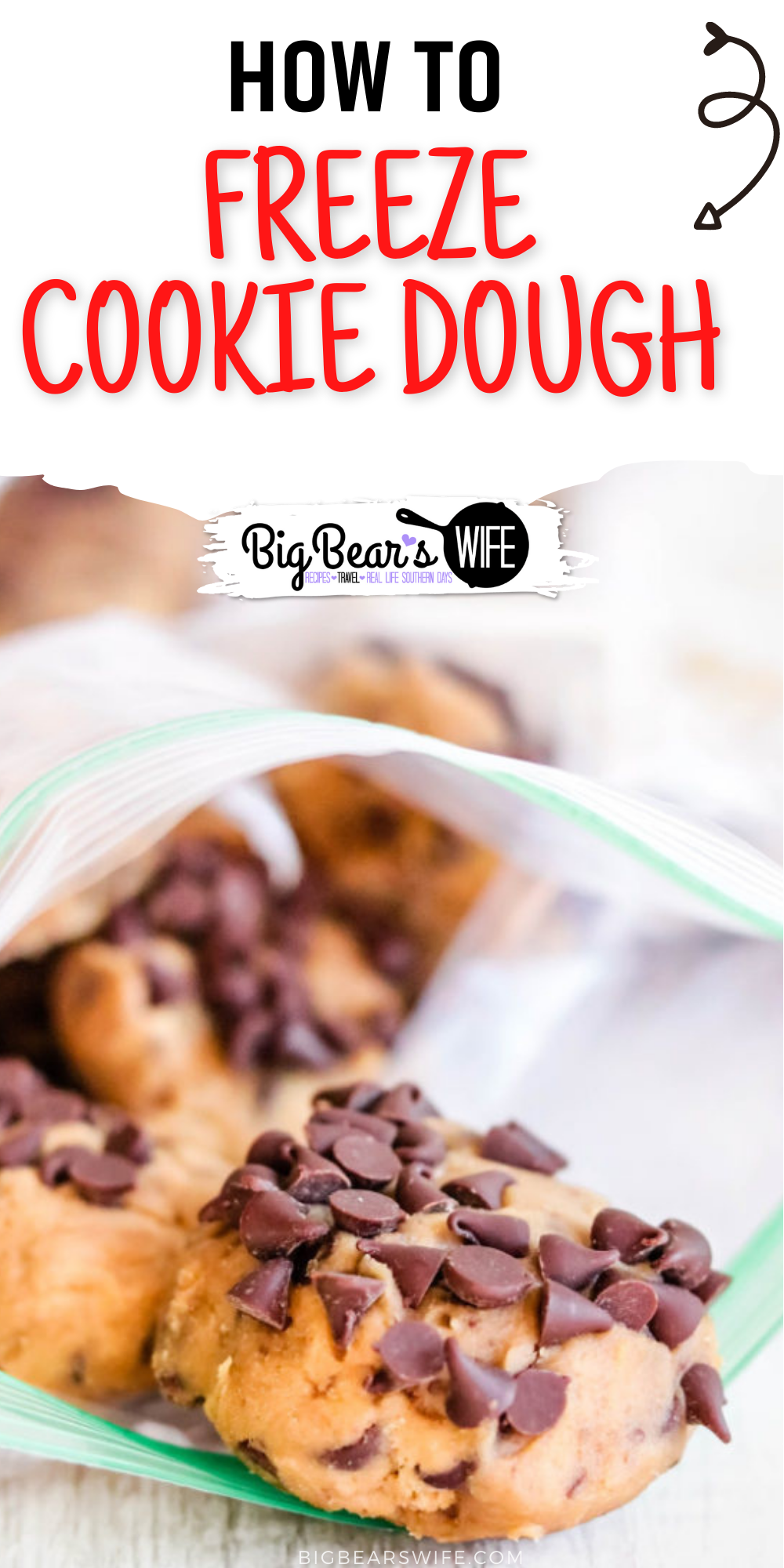 Freshly baked cookies are wonderful but sometimes you don't want to bake up a couple dozen cookies just to enjoy one or two! Learn How to Freeze Cookie Dough for Perfect for Freshly Baked Cookies Anytime you want!