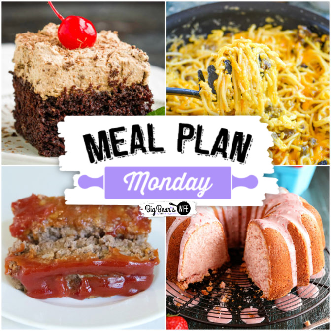 Hey y'all!!  Welcome, welcome to another delicious edition of Meal Plan Monday!  We have some crazy amazing-looking recipes to share with you this week!