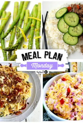 Meal Plan Monday 204 - Lots of recipes!