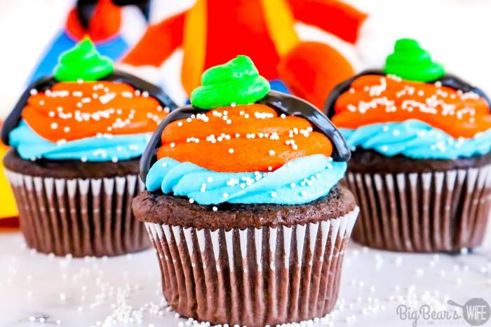Homemade Goofy Cupcakes