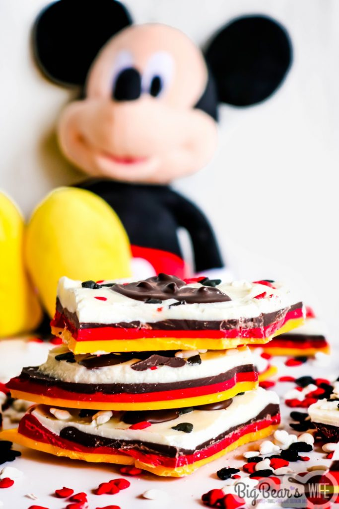 Layered Mickey Mouse Bark