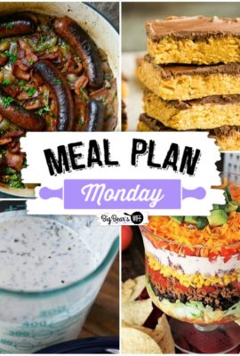 Meal Plan Monday 207