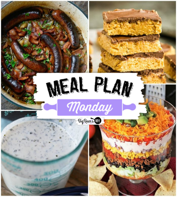 Hey y'all! Welcome to this week's Meal Plan Monday - the 207th one to be exact! via @bigbearswife