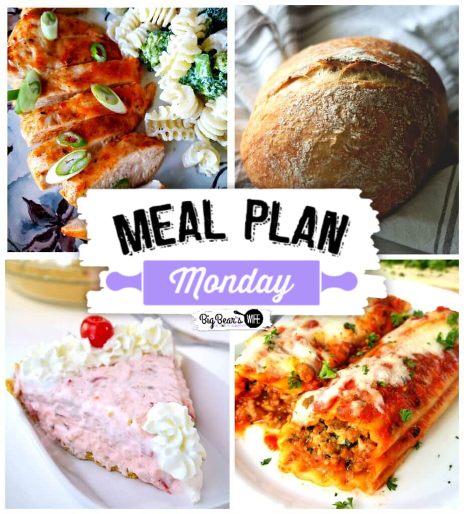 Meal Plan Monday 209