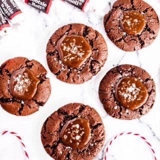 Tootsie Roll Cookies