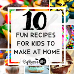 10 Fun Recipes to Make with Kids at Home