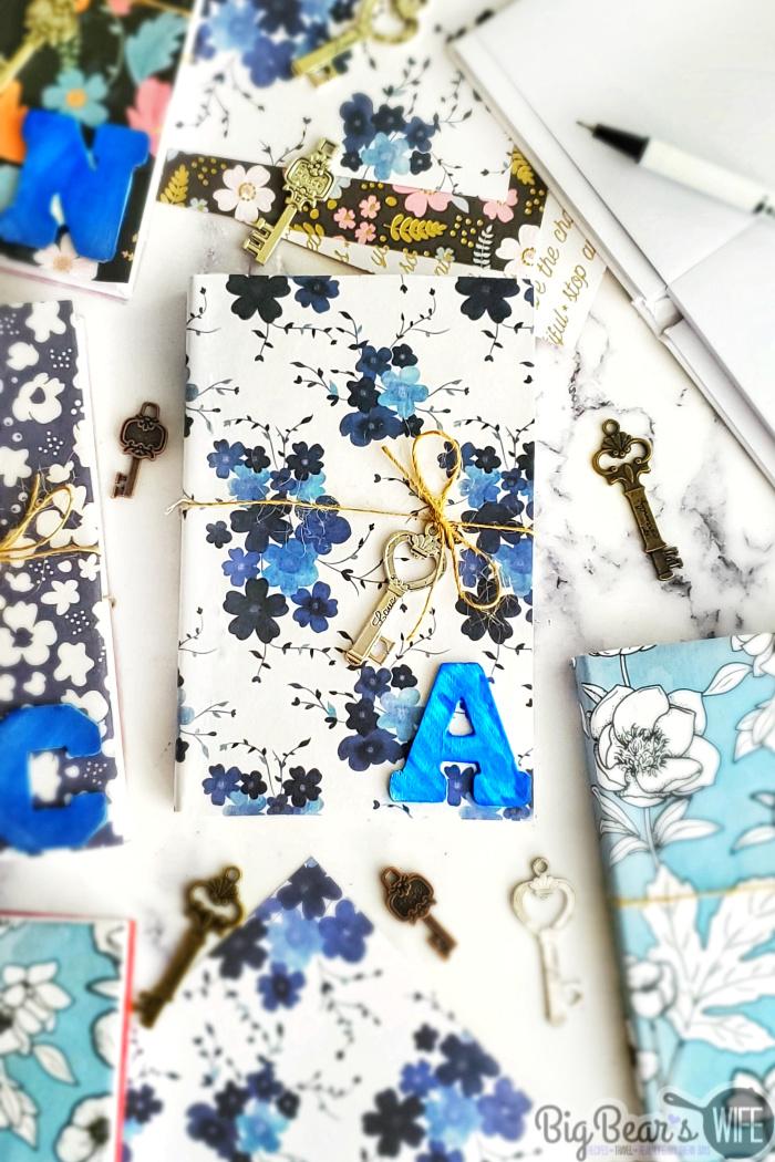 DIY Decoupaged Personal Journal