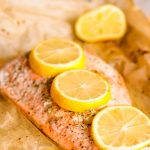 Easy Mediterranean Seasoned Parchment Paper Salmon
