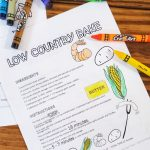 FREE Printable Recipe Coloring Pages – VOL 1