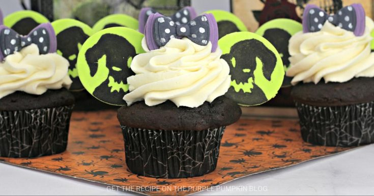 Oogie Boogie Cupcakes | Nightmare Before Christmas Cupcakes