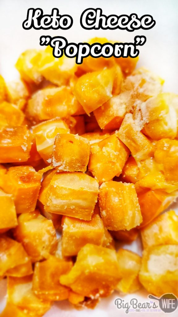 """Keto Cheese Popcorn - Cheese """"Popcorn"""""""