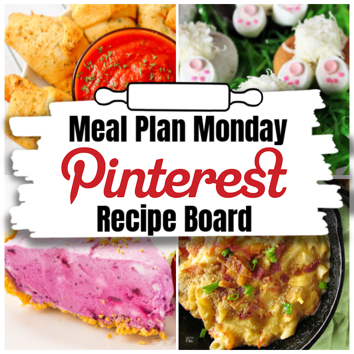 Hey y'all! Welcome to Meal Plan Monday 210! This week we're featuring recipes for Easter Bunny Butt Doughnuts, Decadent Crawfish Mac and Cheese, No-Bake Blueberries & Cream Icebox Cake and Pizza Crescent Roll Dippers plus some extra awesome Easter themed recipes! via @bigbearswife