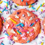 Unicorn Cookies Cake Mix Style