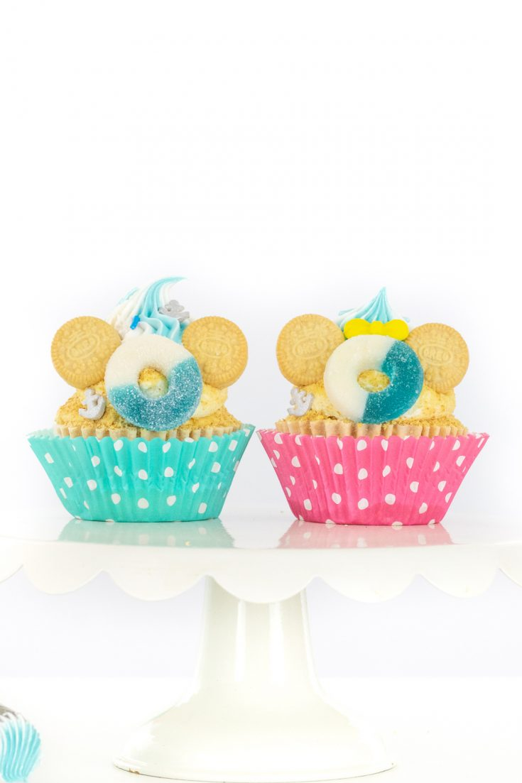 Cruise Inspired Mickey Cupcakes
