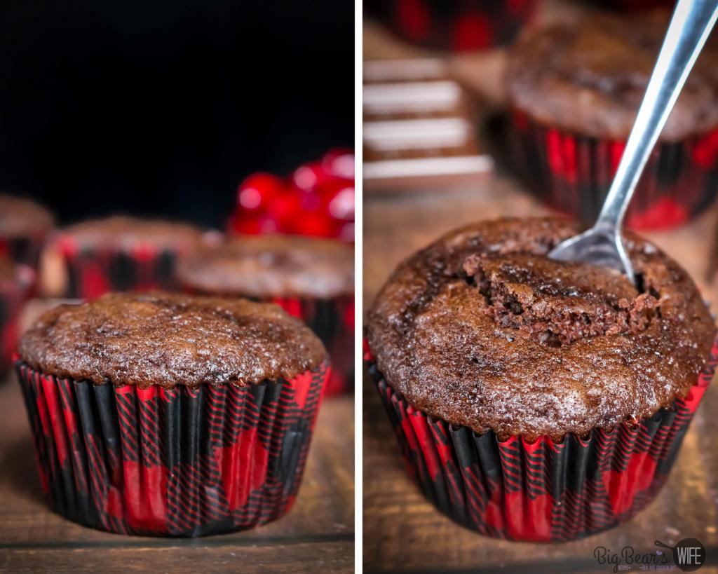 Coring a Chocolate Cupcake